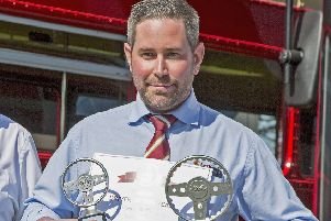 Adam Stitt from Mayfield has been crowned UK bus driver of the year 2019.