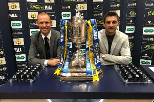 Partick Thistle's Kenny Miller and Ayr United's Kris Doolan drew the teams for the second round fixtures