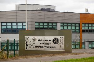 The new Newbattle Community Campus Newbattle Way, Easthouses 7/8/18