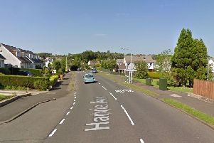 Harvie Avenue in Newton Mearns