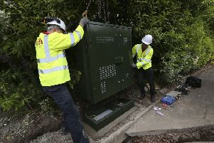 Work as part of Digital Scotland's Superfast Broadband (DSSB) rollout. Photo by Andy Forman.