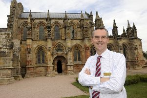 Ian Gardner, director of Rosslyn Chapel Trust, was delighted with the attraction's success last year.