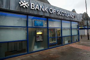 The Loanhead Bank of Scotland in Clerk Street, which is set to close.