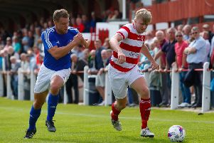 Old rivalries will be renewed this weekend when Bonnyrigg travel to face Kelty Hearts. (Stock image)