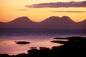 The festivalgoers on Jura in September are likely to see some stunning sunsets.