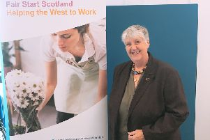 Trish Rundell, who recently started a new job with the support of Fair Start Scotland.