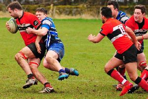 Steven Hunter in action for Lasswade against Whitecraigs (archive pic)