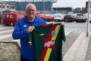 Partick Thistle legend Jimmy Bone has become a patron for the Africa on the Ball charity