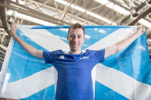 Commonwealth Games silver medalist John Archibald is now a world record holder
