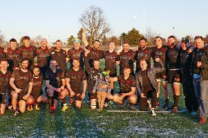 Biggar Rugby Club's table topping first team squad members have had plenty to celebrate this season!