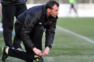 Colin McMenamin is looking for his Stenhousemuir side to continue their winning home run against Brechin.