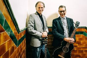 Rab Noakes and Brooks Williams will perform together at Milngavie Folk Club. (Photo: Kris Kesiak)