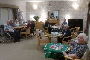 Residents of Oakburn are pictured enjoying daily activities