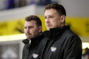 Fife Flyers head coach Todd Dutiaume (Pic: Scott Wiggins)