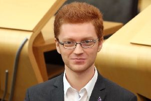 Scottish Green Party's Ross Greer during First Minister's Questions at the Scottish Parliament in Edinburgh. PRESS ASSOCIATION Photo. Picture date: Thursday January 31, 2019. See PA story SCOTLAND Questions. Photo credit should read: Jane Barlow/PA Wire