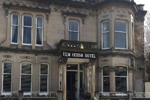 """29-year-old Paul Gresham said the hotel room in Hawick was trashed due to his """"falling all over the place"""" after drinking to excess following the murder of his mother."""