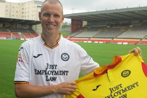 New Partick Thistle signing Kenny Miller (pic courtesy of Partick Thistle FC/KC Sports Pix)