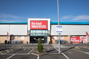 Food Warehouse is just one of the new names coming to Cumbernauld in a brand new out-of-town setting