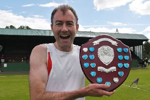 Dean Whiteforl, of Innerleithen, is expected to be among the local runners taking part (archive image).