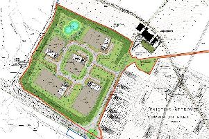 The plans are for land at East Newtonleys