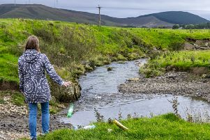 Keep Scotland Beautiful Clyde Clean-up campaign. Aug 2019
