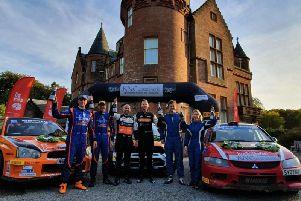 David Bogie was a clear winner of the Galloway Hills Rally (pic:Eddie Kelly)