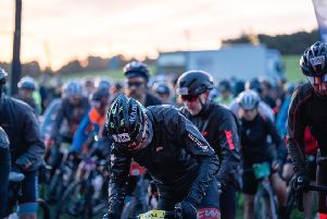 Preparing for the start of the next stage at the Hopetoun Estate''All pictures: Threshold Sports