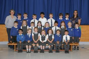 Jamie Forbes Photography. P1 2019 Mosshead Primary School. Mosshead P1. Mosshead P1b.