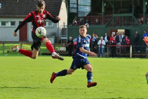 Phil Middlemiss was on target against both Vale of Leithen and Caledonian Braves