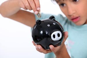 Around three out of four children still have a piggy bank, but bank accounts and apps are becoming more popular.