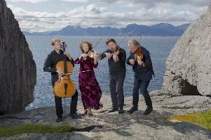 The Engeg�rd Quartet will open the second half of the Milngavie Music Club's season with a concert at Cairns Church next month.