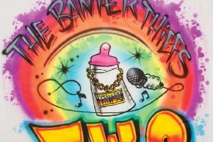 The artwork for the new The Banter Thiefs EP TWO