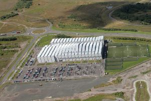 The civic park will be located to the south of Ravencraig Regional Sports Facility