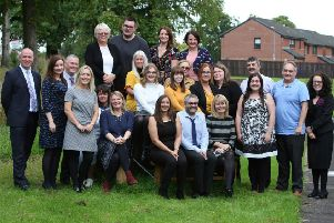 The North Lanarkshire Council staff who have embarked on a range of degree programmes as part of the Graduate Apprenticeship scheme