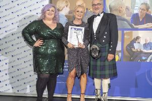 Rosemary Brennan won the Innovative Practice category at the Scottish Care Awards 2018