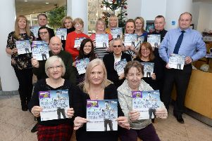The 'Surviving Christmas' guide was launched at a suicide prevention training course held in Motherwell Civic Centre