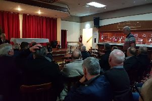 A public meeting of the Scottish Government's Independent Review of Policing during the 1985 Miner's Strike took place at Auchengeich Miners Club