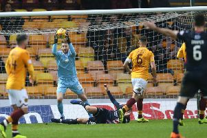 Motherwell keeper Mark Gillespie was solid against Ross County (Pic by Ian McFadyen)