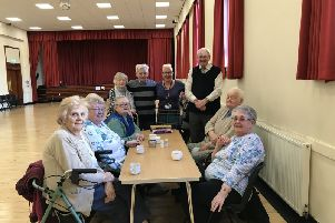 The Isa Money Lunch Club in Motherwell.