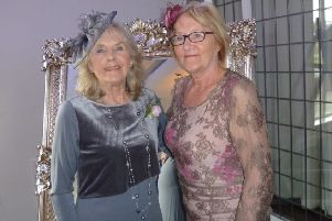 Mary (left) and Winifred Gibbon are celebrating their 80th birthday