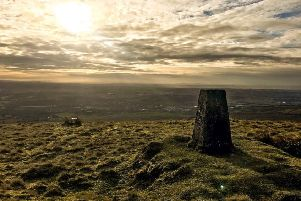 A dramatic view Neil Robertson took from the top of Tomtain in the Kilsyth Hills