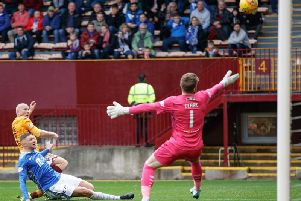 Will Motherwell striker Curtis Main be on target against St Johnstone this Saturday?