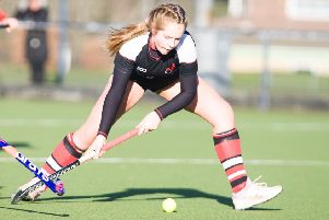 Roseanna Prentice in action for the Reivers (picture by Ewan Bootman Photogrpahy)
