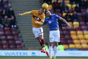 Motherwell thrashed St Johnstone 3-0 in the sides' last league meeting at Fir Park on March 30 (Pic by Ian McFadyen)