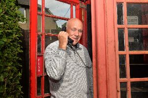 Councillor Harry Scott hopes people get involved in the consultation on phone boxes in the Borders.
