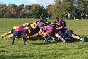 Uddingston Rugby Club in action (Library pic)