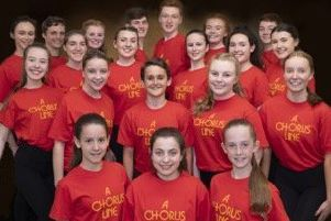 Members of Creative Studio, from Selkirk, are celebrating having received rave reviews of the Edinburgh Fringe production Chorus Line.