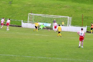 Savarese's winner for Bellshill at Lesmahagow