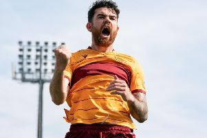 Liam Donnelly has been in scintillating form for Motherwell this season