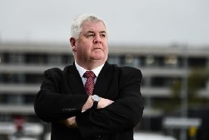Hugh Gaffney wants Monklands Hospital rebuilt on its present site